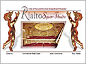 RialtoSquare Theatre Website Design